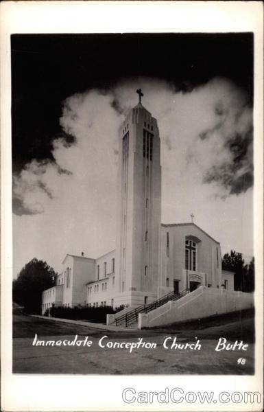 Immaculate Conception Church Butte Montana