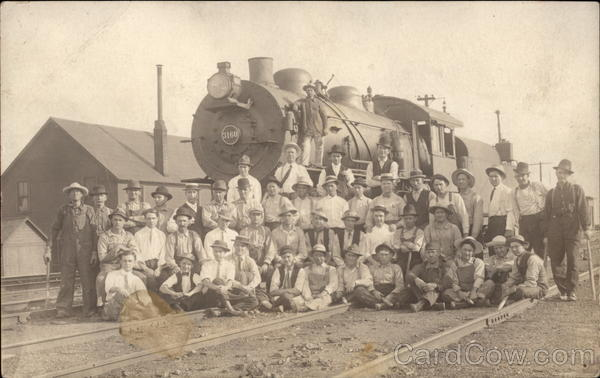 People In Front of Train Engine Locomotives