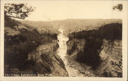 The Gorge, Letchworh State Park