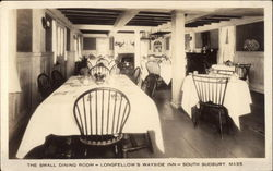 Small Dining Room, Longfellow's Wayside Inn