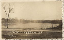 Erie Railroad Reservoir Postcard