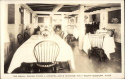Longfellow's Wayside Inn - The Small Dining Room