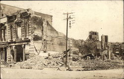1915 Hurricane Destroyed Buildings 23rd and Strand