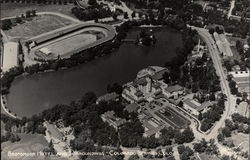 Aerial View of Broadmoor Hotel and Surroundings