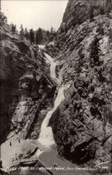 Seven Falls in Cheyenne Canyon