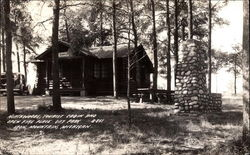 Northwoods, Tourist Cabin and Open Fireplace