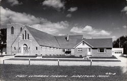 First Lutheran Church Postcard