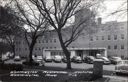 Worthington Municipal Hospital Postcard