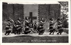 Group of Dancing Native Women