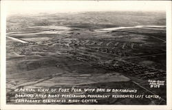 Aerial View of Fort Peck