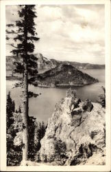 Crater Lake From the Rim Drive