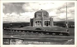 The Vista House, Columbia River Highway Postcard