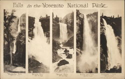 Falls in the Yosemite National Park