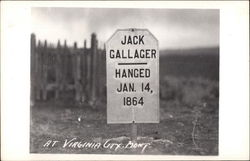 Jack Gallager, Hanged Jan. 14, 1864