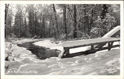 Rattlesnake Bridge in Winter
