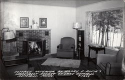 Cottage Interior at Harry E. Roese's Shorecrest Resort