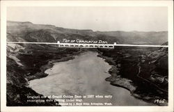 Original Site of Grand Coulee Dam in 1937