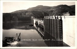 Upstream Face - Looking West - Coulee Dam