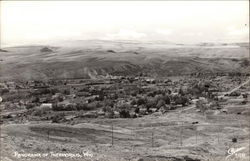Panorama of Thermopolis, Wyoming