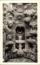 Cross Section of Grotto Postcard