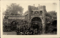 Front of Grotto Postcard