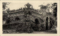 North and East Front of Grotto