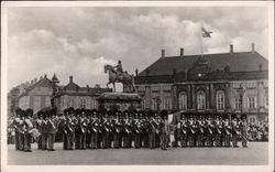 Parade of Soldiers on Amalienborg