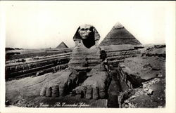 The Excavated Sphinx Postcard