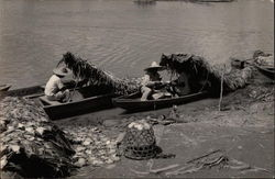 Local Peruvians Fishing