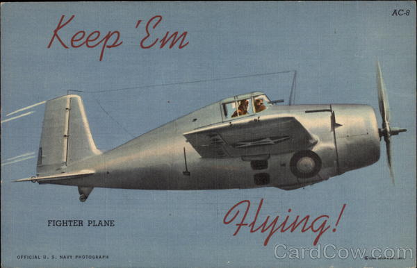 Keep 'Em Flying! Fighter plane: AC-8 World War II