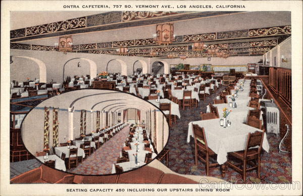 Ontra Cafeteria Los Angeles California