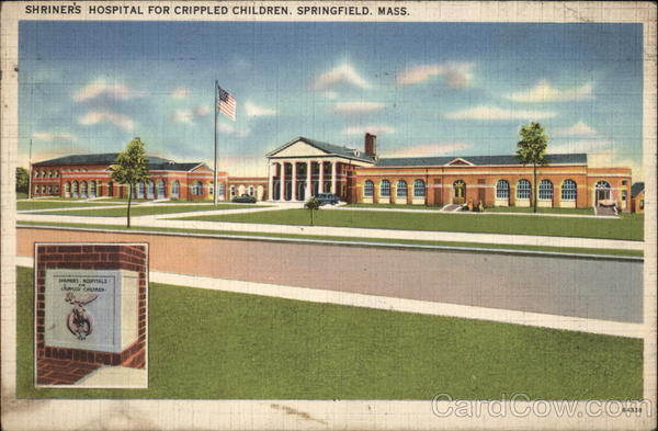 Shriner's Hospital for Crippled Children Springfield Massachusetts