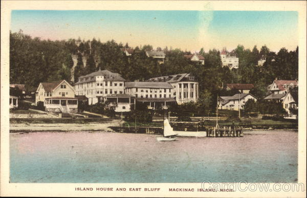 Island House and East Bluff Mackinac Island Michigan