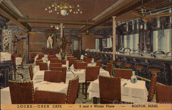 Locke-Ober Cafe Boston Massachusetts