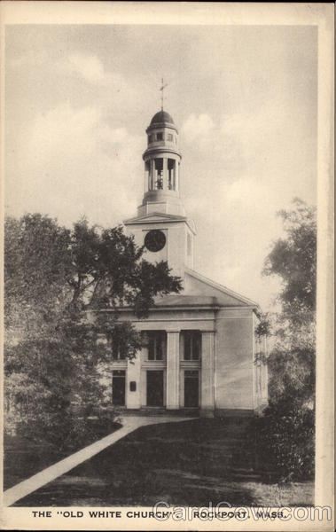 """The """"Old White Church"""""""