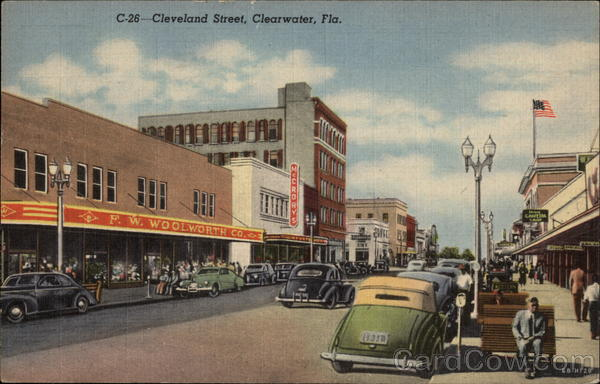 Cleveland Street Clearwater Florida