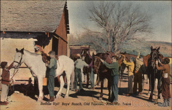 Saddle Up!! Boys' Ranch, Old Tascosa Amarillo Texas