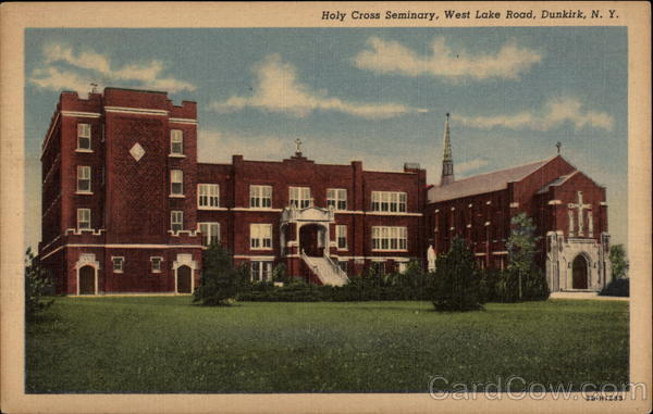 Holy Cross Seminary, West Lake Road Dunkirk New York