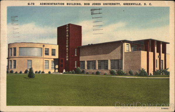 Administration Building, Bob Jones University Greenville South Carolina