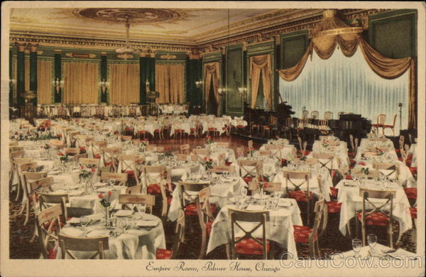 Empire Room, Palmer House Chicago Illinois