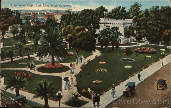 A Section of Pacific Park Long Beach California