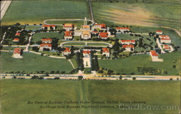 Buckner orphans home dallas tx for Buckner home