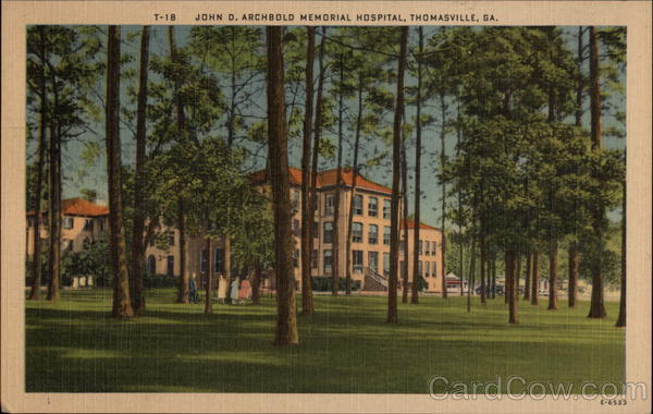 John D. Archbold Memorial Hospital Thomasville Georgia