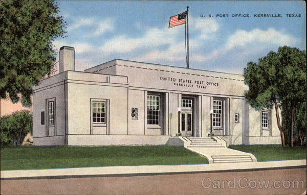 U. S. Post Office Kerrville Texas