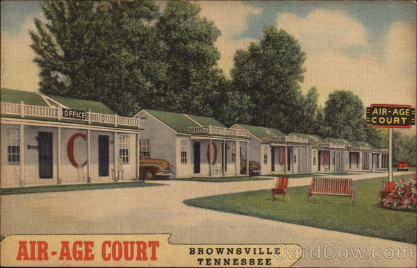 Air-Age Court Brownsville Tennessee
