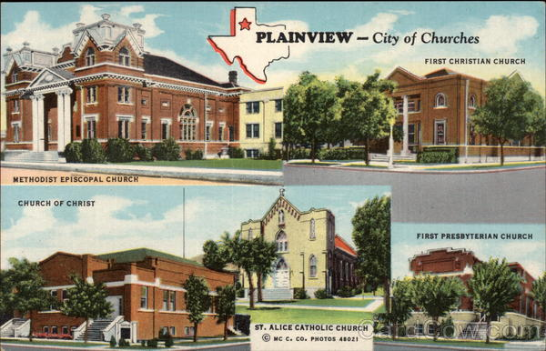 City of Churches Plainview Texas