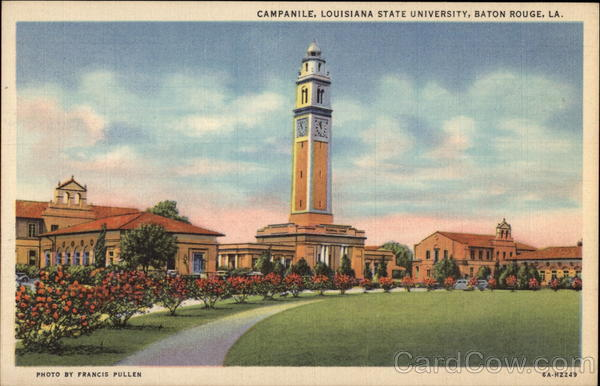 Louisiana State University - Campanile Baton Rouge