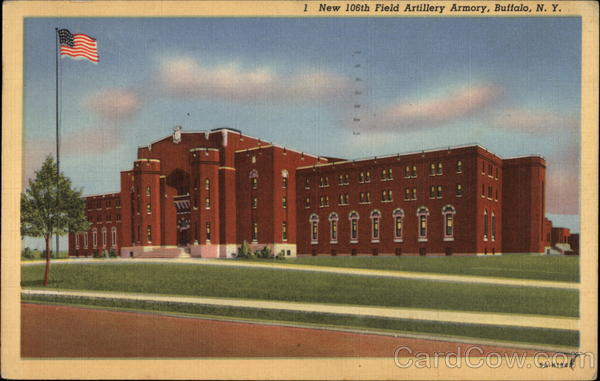 New 106th Field Artillery Armory Buffalo New York