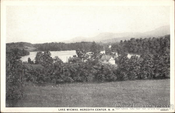 Lake Wicwas Meredith Center New Hampshire