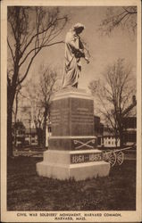 Civil War Soldiers' Monument, Harvard Common